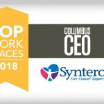 Syntero, Inc. Selected as Top Workplace 2018